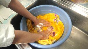 浴衣の水洗い