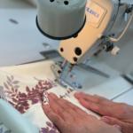 サコッシュの縫製